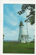 Marblehead Lighthouse Lake Erie Old Postcard USA 404a ^