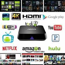 M8S KODI Fully Loaded Android 4.4 Smart TV BOX Free Kids Sports Media Player 4K