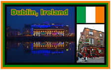 DUBLIN, IRELAND - SOUVENIR NOVELTY FRIDGE MAGNET - BRAND NEW - GIFT