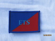 Adjutant General Corps, ETS, TRF, parche, insignia, Education & Training Services