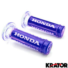 "Sportbike Racing Blue Comfort Gel Hand Grips 7/8"" For Honda CBR 250R 929 954 RR"