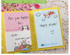 s. Cute Animals Sticker Post It Bookmark Point Marker Memo Flags Sticky Notes1PC