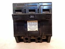 CROUSE-HINDS TYPE MP-A MP330 3 POLE 30 AMP PLUG-IN CIRCUIT BREAKER