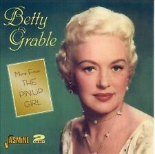 Betty Grable: More from the Pin-Up Girl - New 2 CD Set - Jasmine Records