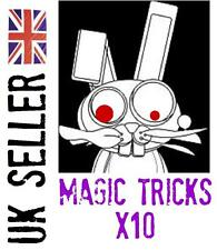 MAGIC TRICKS x10 close-up bundle NEW
