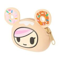 Tokidoki Neon Star Donutella silicone coin purse Sweet Shop Donut Pouch