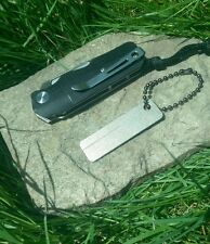 Mini EDC Diamond sharpener for Survival knife Bushcraft Camping Hiking & Hunting
