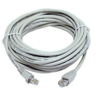 RJ45 Cat5e 2M 3M 5M 10M 15M 25M 30M ETHERNET NETWORK LAN Cable Patch Lead Xbox-