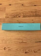 "Tiffany & Co Empty Blue Gift Storage Box11 1/8"" x 2"" x 1.5"" Authentic/Unusual Sz"