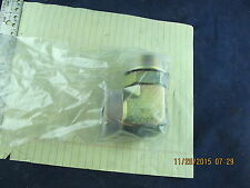 John Deere Elbow Fitting - 38H1637 ORFS Bulkhead Elbow BRASS