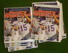 42 NM Sports Illustrated TIM TEBOW & THE GATORS Not Done Yet  19 Jan 2009 L@@K