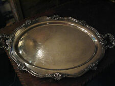Reed and Barton Antique Silver Plate Tray