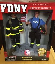 2001 Real Heroe's Fdny  9/11/01 Tribute Limited Edition Figure