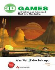 3D Games, Volume 2: Animation and Advanced Real-time Rendering by Watt, Alan, P