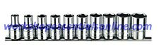 "1/2"" Drive Imperial Socket Set 6 Point 3/8""-15/16"" 12 Piece Set Signet S13150"