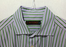 ETRO Milano Men's Made in Italy Long Sleeve Dress Shirt Size 42 EUR 16 1/2 US