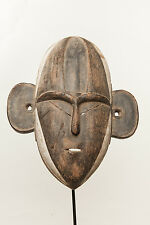 Boa Mask, Democratic Republic of Congo, African Tribal Art