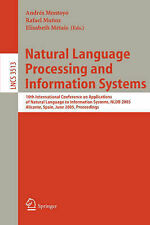 Natural Language Processing and Information Systems: 10th International Confere