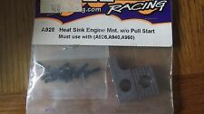 HPI RS4 Nitro Engine Mount Heat Sink NON Pull Start List Attached  A920  BINH15