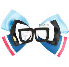 Bob's Burgers Tina Belcher w/ Glasses Hat Cosplay Hair Bow Pin Clip Costume NEW