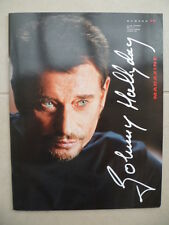 Magazine n° 15 - revue du Club JOHNNY HALLYDAY - 2002 - special l'homme du train
