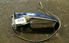 PEUGEOT 307  ELECTRIC DRIVER SIDE WING MIRROR 2001 - 2008 BLUE