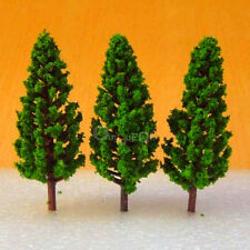 New Model Pine Trees Deep Green For HO OO Scale Layout 68mm