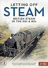 Letting Off Steam - British Steam In The 50s And 60s (DVD, 2014, 4-Disc Set)