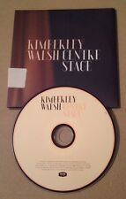 Kimberley Walsh - Centre Stage Promo Cd In Poster Pack Very Rare Girls Aloud