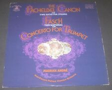 Maurice Andre - Pachelbel Canon /  Fasch Concerto for Trumpet RCA FRL1-5468 LP