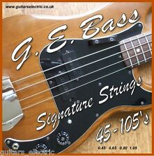 ELECTRIC BASS GUITAR STRINGS 45-105s Light Gauge .045to .105 UK seller Own Brand