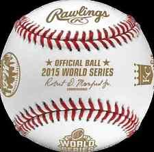 Rawlings Official 2015 World Series Dueling Team MLB Baseball Mets Royals NIB