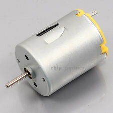DC 3-12V 4000-16000RPM Carbon Brush Motor Strong Magnetic High Speed Robot Motor