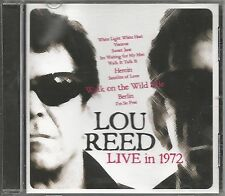 LOU REED - Live in 1972 - COME NUOVO UNPLAYED