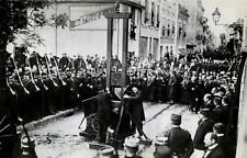 Framed Print - Public Execution by Guillotine France 1939 Picture Death Penalty