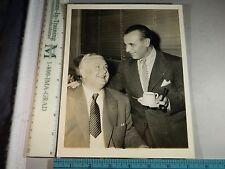 Rare Original VTG 1944 Singer Lauritz Melchior Conductor Jose Iturbi Music Photo