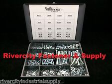 Metric Bolt Nut & Washer Assortment (Hex Cap Screw) 530 Piece Grade 10.9 +Tray