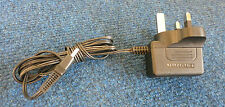 OEM ADS0066-D UK 3 Pin Plug Switching AC Power Adapter 6 Watt 9 Volt 0.5 Amps
