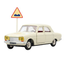Dinky Toys 1428 white PEUGEOT 304 Atlas 1:43 Diecast Car Toy Gift