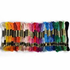 36 skeins thread Multicolored For Embroidery Cross Stitch Knitting Bracelets +