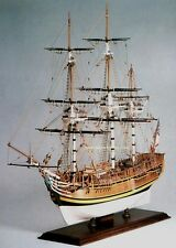 "Elegant, classic Amati model ship kit: the ""HMS Bounty"""