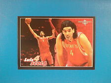 2009-10 Panini NBA Basketball n.328 Luis Scola Houston Rockets