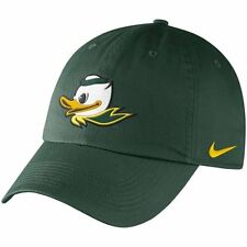 "Nike Oregon Ducks Mascot Heritage 86 Adjustable Green Hat ""Free Shipping in USA"""