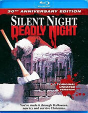 SILENT NIGHT DEADLY NIGHT 30TH ANNIVERSARY - BLU RAY - Region A - Sealed