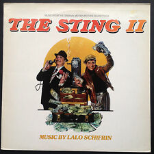 Lalo Schifrin THE STING II film soundtrack OST LP 1982 Jackie Gleason Teri Garr