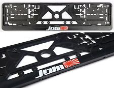 JDM JAPAN RISING SUN FLAG FRAMES EURO for LICENSE PLATES 2pcs drift race stance