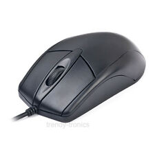 Gembird Ergonómica Pc Computadora Ps2 Optical Mouse-Negro