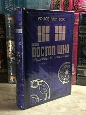 DOCTOR WHO- TWO NOVELS LEATHER BOUND BOOK, BRAND NEW & SEALED!!!