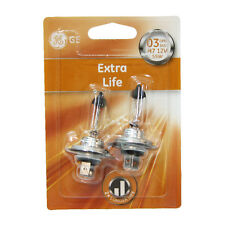 2 X H7 Halogen Light Bulbs Extra Life Longer Life Xenon Ge Genuine 55w