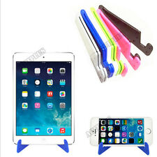 Universal V Shaped Foldable Mobile Cell Phone Stand Holder Hands Free act